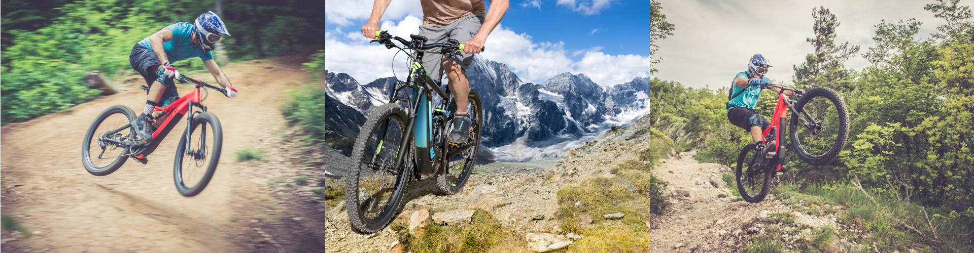 Für E-Bikes oder wie hier E-Mountinbikes werden besonders leichte und trotzdem Leistungsstarke Akkusysteme benötigt.